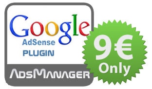 Adsmanager Google Adsense Plugin