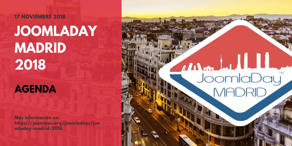 Joomla Day Madrid 2018